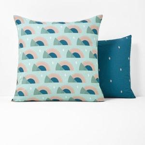 Austra Printed Single Pillowcase La Redoute Interieurs