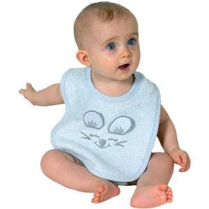 Bavoir bébé en forme de SOURIS CIEL SENSEI LA MAISON DU COTON