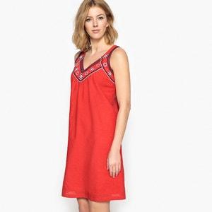 Embroidered Flared Dress ANNE WEYBURN