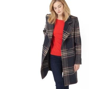 Manteau à carreaux SOFT GREY