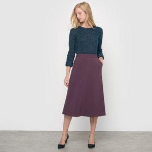 Straight Below-Knee Length Skirt atelier R