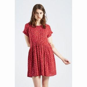 Sukienka z pięknie układającego się materiału z nadrukiem Vestido Arthur COMPANIA FANTASTICA
