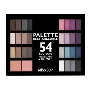 Palette de Maquillage Miss Cop 54 Couleurs MISS COP