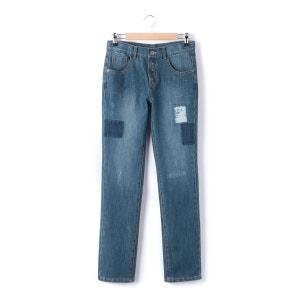 Jeans direitos destroy, rapaz, 10-16 anos R teens