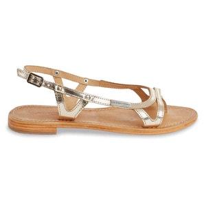 Isatis Flat Leather Sandals LES TROPEZIENNES PAR M.BELARBI