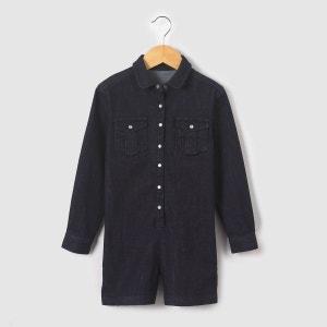 Combi-short en jean 3-12 ans La Redoute Collections