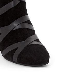 Boots cuir détail laçage MADEMOISELLE R