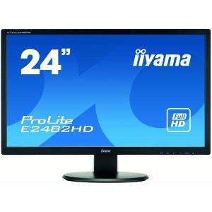 Ecran PC iiyama ProLite E2482HD-B1 24 LED 1920x1080 5 ms VGA, DVI noir IIYAMA