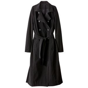 Długi płaszcz przeciwdeszczowy z poliestru, przejściowy atelier R