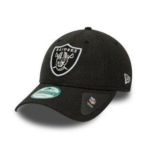 Casquette New Era 940 Oakland Raiders 9Forty Heather Team Noir NEW ERA CAP