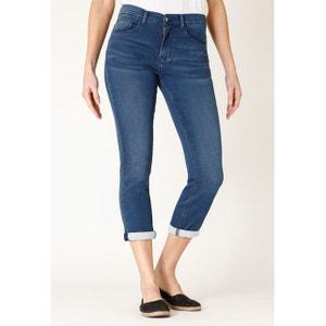 Jeans jogg denim stretch 7/8ème coupe cigarette lea RICA LEWIS