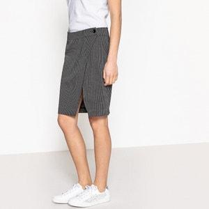 Spódnica portfelowa, długość do kolan BENETTON
