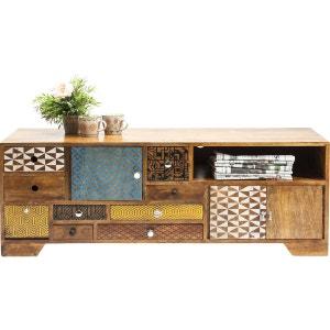 Meuble TV en bois Soleil 3 portes 9 tiroirs Kare Design KARE DESIGN
