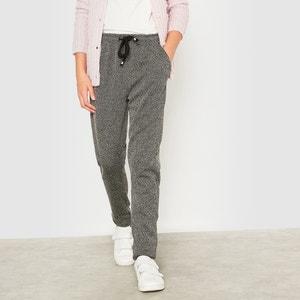 Pantalón tipo chándal de espigas 10-16 años R essentiel
