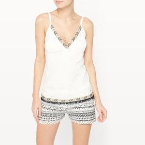 Pijama curto em algodão Galon DODO