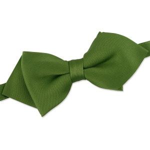 Noeud papillon classique vert TOP KNOT