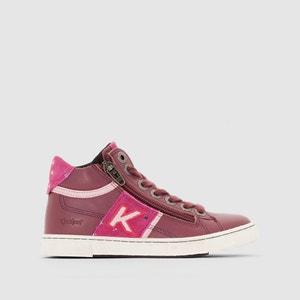Zapatillas de caña alta con adorno de cremallera Poolover KICKERS