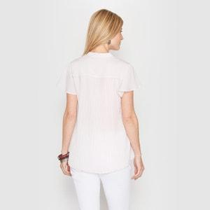 Blusa de crepé, espalda plisada ANNE WEYBURN