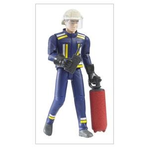 Bruder 60100 Figurine pompier avec eccessoires BRUDER