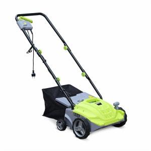 Scarificateur électrique gazon VOLTR 1500W, 2en1 aérateur et démousseur pelouse, 2 rouleaux ALICE S GARDEN