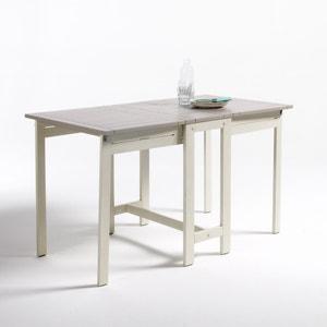 Table de jardin meuble et d coration la redoute Table jardin teck la redoute