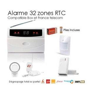 Kit alarme maison sans fil 32 Zones Easy BOX SECURITE GOOD DEAL