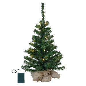 TREE - Sapin de Noël lumineux 20 LED H60cm XMAS LIVING GLASS