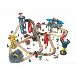Circuit de train en bois Super Highway KIDKRAFT