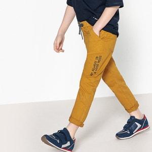 Pantaloni stile chino da 3 a 12 anni La Redoute Collections