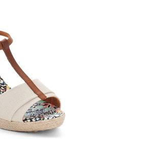 Sandalen met sleehak, Mirage PARE GABIA