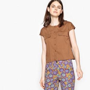 Camisa sin mangas con bolsillos en el pecho La Redoute Collections
