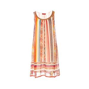 Sukienka bez rękawów z nadrukiem RENE DERHY
