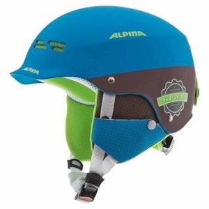 Spam Cap - Casque de ski - marron/bleu ALPINA