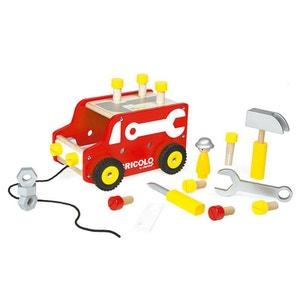 Camion Etabli Redmaster (bois) - JURJ06490 JANOD