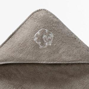 Cape de bain + gant bébé éponge 420 g/m² fille et La Redoute Interieurs