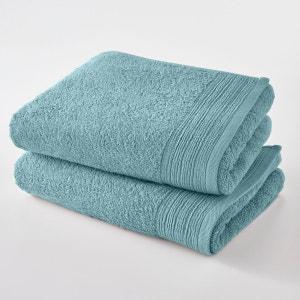 Serviettes de toilette éponge coton bio (lot de 2) SCENARIO