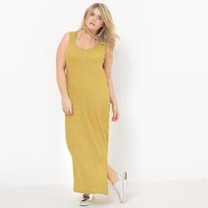 Lange maxi jurk zonder mouwen CASTALUNA