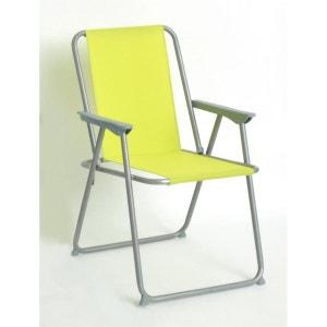Chaise pliante Grecia - Vert COTE DETENTE