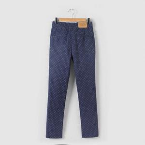 Pantalon imprimé micro-motifs 10-16 ans La Redoute Collections
