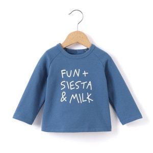 Sweater met opschrift La Redoute Collections