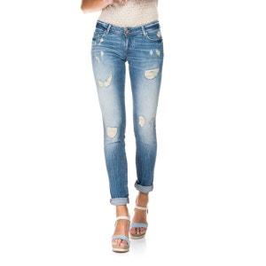 Pantalons déchirés avec effet Push Up délavage premium - Shape Up SALSA