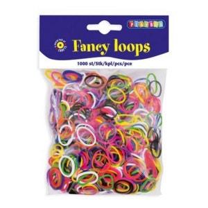 PLAYBOX La recharge d'élastiques Fancy Loops, 1000 pièces PLAYBOX