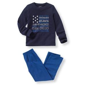 Pyjama coton ''drapeau'' 2-12 ans R édition