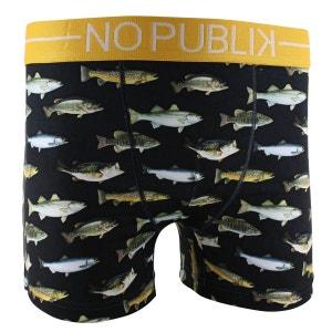 Boxer Microfibre Homme River Fish NO PUBLIK