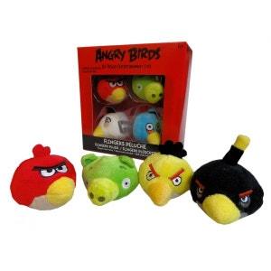 Ensemble de décorations de crayon en peluche - Collection Angry Birds ! ANGRY BIRDS