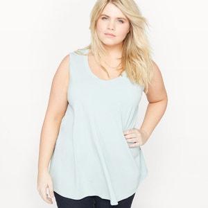 Sleeveless T-Shirt with Fancy Back CASTALUNA