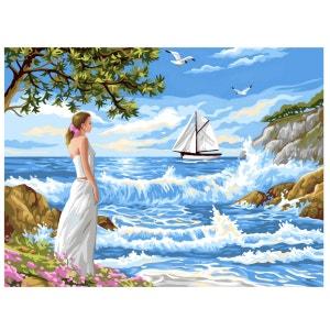 Peinture au numéro pour Initiés : L'appel de la mer OZ INTERNATIONAL