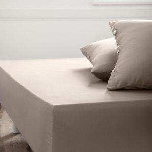 Sábana bajera ajustable de satén de algodón La Redoute Interieurs