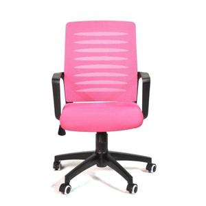 Chaise de bureau rose La Redoute