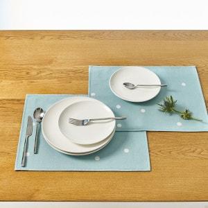 Sets de table imprimés enduits  AURELIA (lot de 2) La Redoute Interieurs
